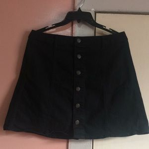Mossimo supply co. Skirt black (12)